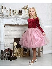 Платья Красавушка.  Детское нарядное платье. Юбка длинная в сборку сзади молния. Платье полностью на подкладке.