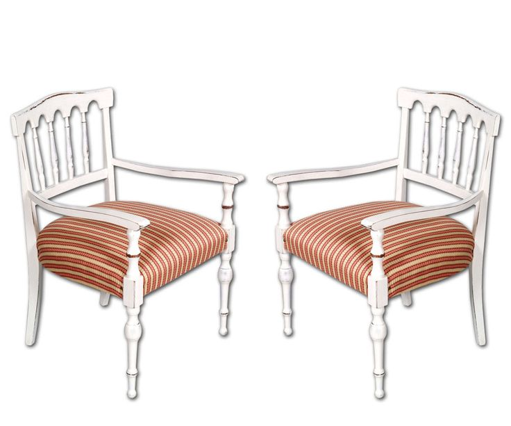 COPPIA SEDIE SHABBY CHIC BIANCHE A PAIR OF SHABBY CHIC CHAIRS WHITE - MY 89