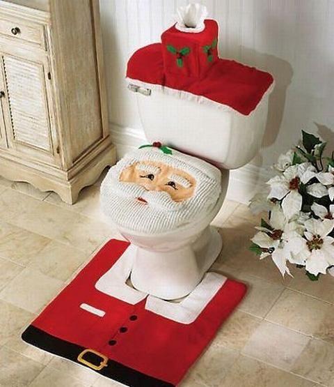 Como Hacer Arreglos Navideños para el Baño - Para Más Información Ingresa en: http://disenodebanos.com/como-hacer-arreglos-navidenos-para-el-bano/
