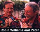 Robin Williams and Hunter Patch Adams