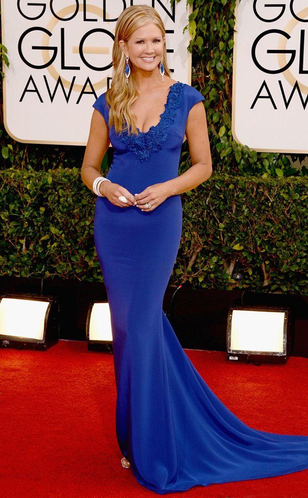 Nancy O'Dell from 2014 Golden Globes: Red Carpet Arrivals | E! Online