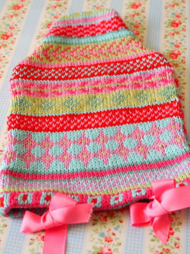83 best Knit Fair Isle images on Pinterest | Fair isle knitting ...