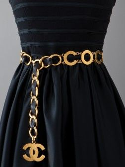 Coco Chanel Belt (maybe not so in your face a little more discreet the CC)
