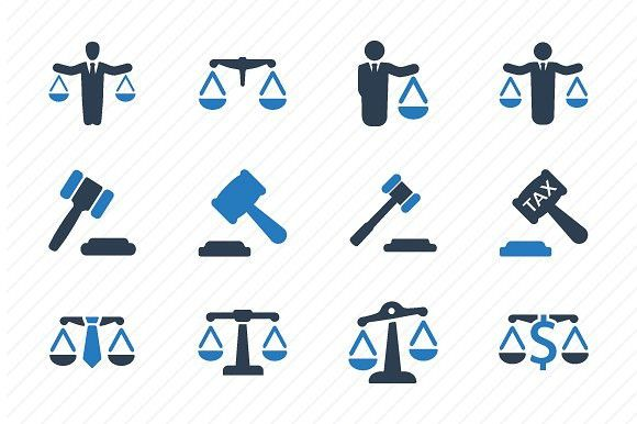 Business Law Icons Blue Version Book Icons Business Businesslawyer Law Icon Business Icon Business Icons Vector