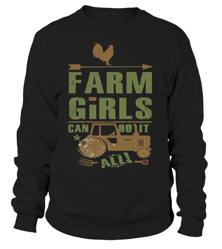 Farm Girl I can do it  #gift #idea #shirt #image #funny #job #new #best #top #hot #engineer