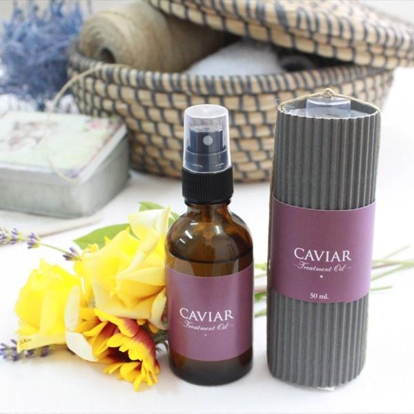 Aceite de caviar para cuello y escote