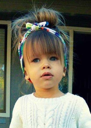 Coupe cheveux enfant fille