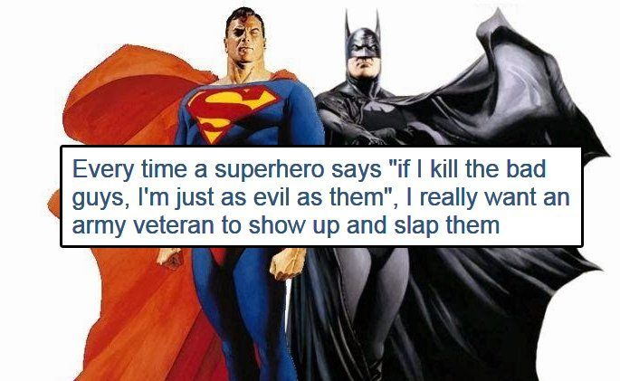 14 Superhero Logic Images That Will Make Fans Feel Silly About Everything Geeks On Coffee Superhero Feeling Stupid Superhero Comic