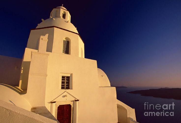 Afterglow -Santorini,Greece