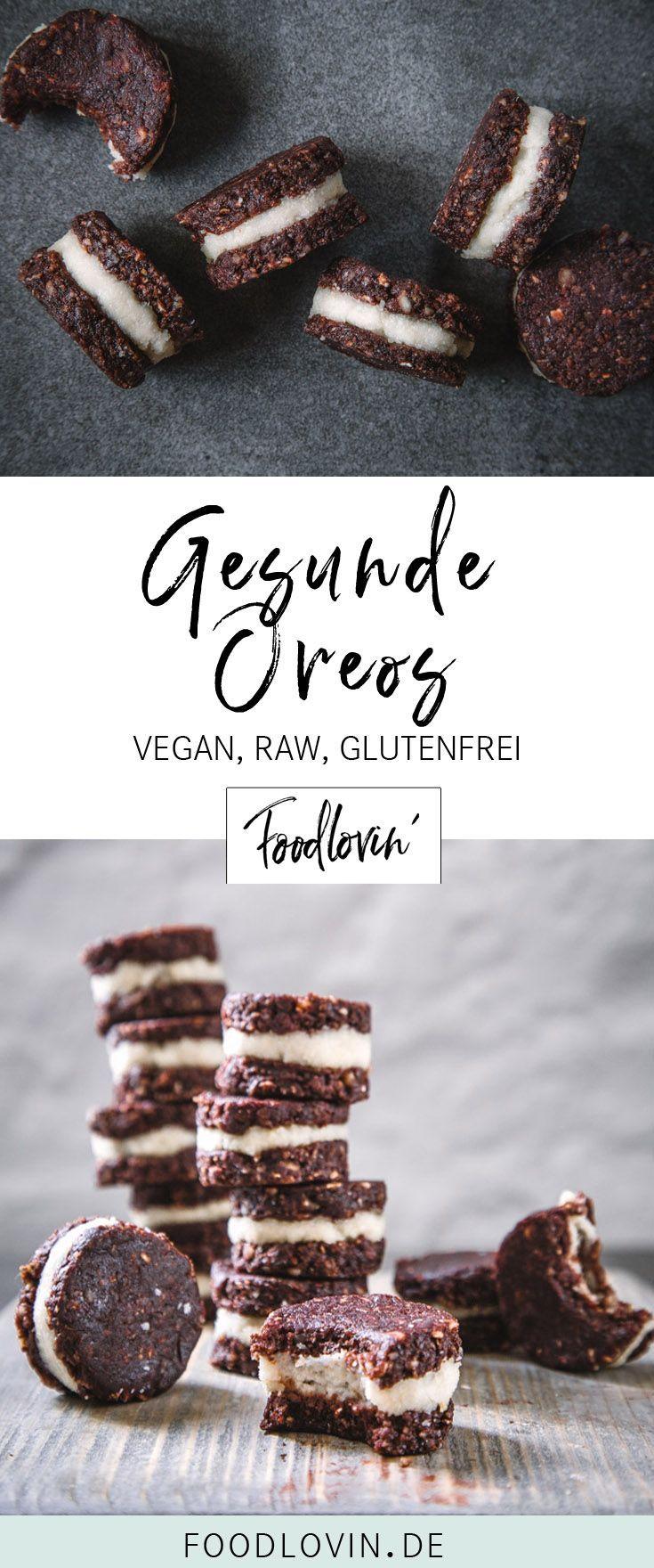 Rawreos – Oreos saudáveis veganos   – Nachspeisen & Desserts