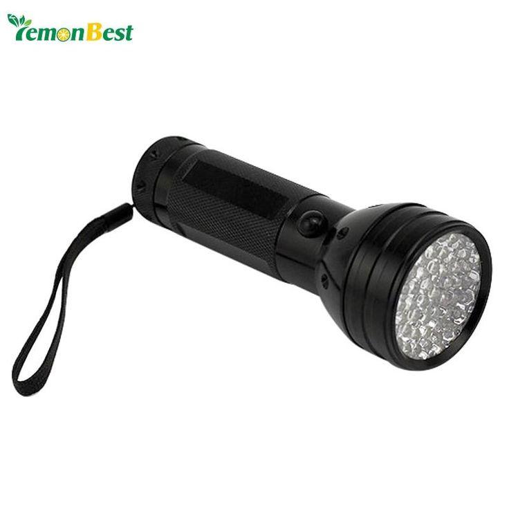Black tactical Flashlight