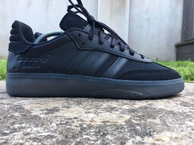conferencia Final Desarrollar  Adidas Samba RM Originals Black Leather Size 9 UK 10 UK Mens Retro Trainers  NEW | eBay | Retro trainers, Adidas samba, All black sneakers