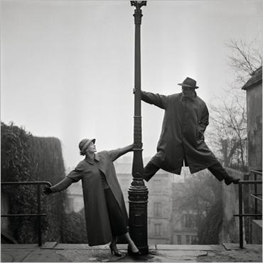 Jill et Pierre Brice - Montmartre  © Georges Dambier