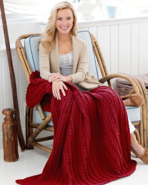 Cozy up with this Rustic Romance Throw. This crochet afghan pattern has truly lovely texture. The combination of cable stitch and shell stitch create a one-of-a-kind throw that's sure to be a fast favorite.