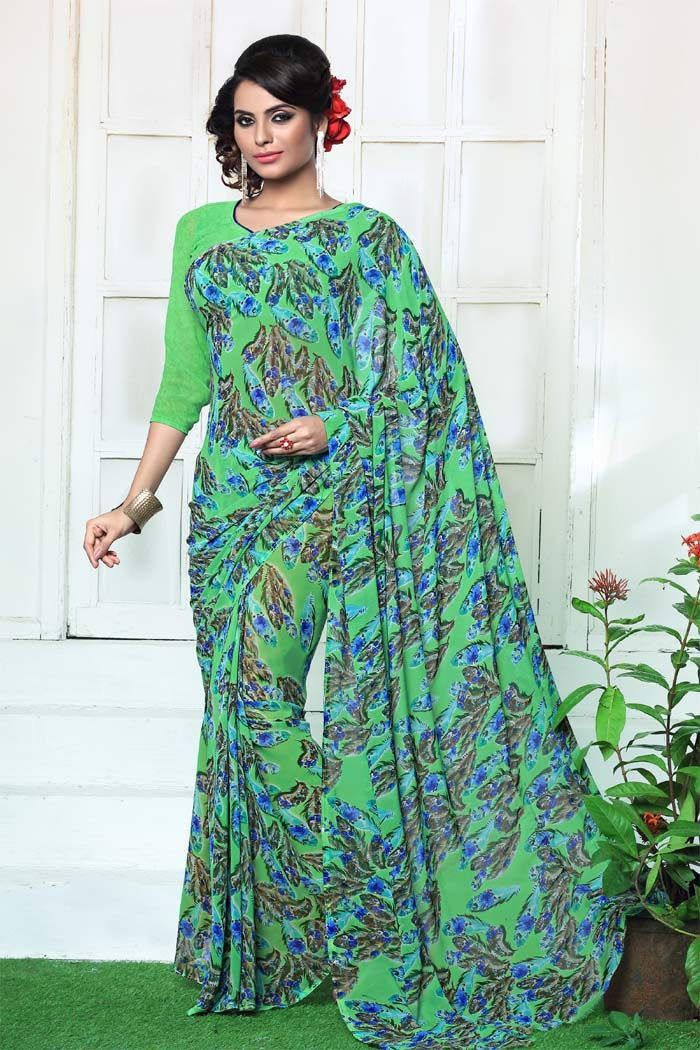 For Inquery Or Info : #Contact or #whatsapp us on :+91 9377507587 #Weightless With Printed @649/-each for full set + Shipping Charge Extra... Saree Fabric - Weightless With Printed... Blouse Fabric - Weightless With Printed.....