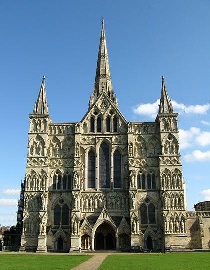Arquitectura Estilo Gótico. Catedral de Salisbury