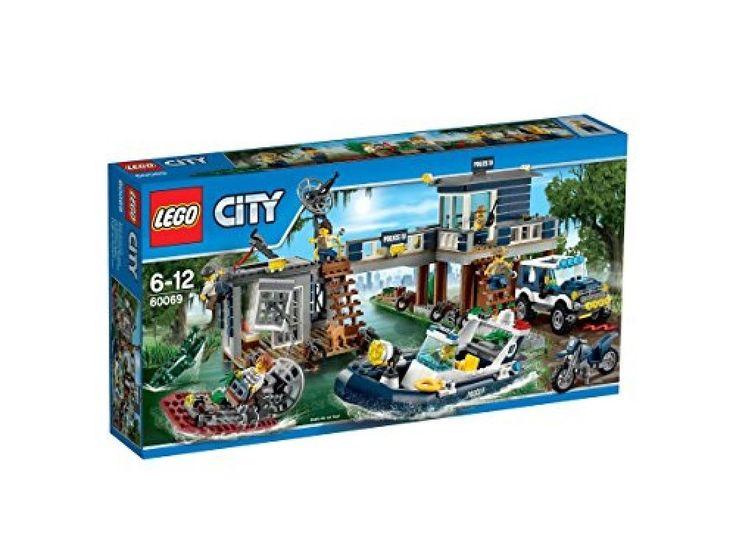 LEGO City Swamp Police Station 60069 4Vehicles EMS Japan +Tracking Number #LEGO
