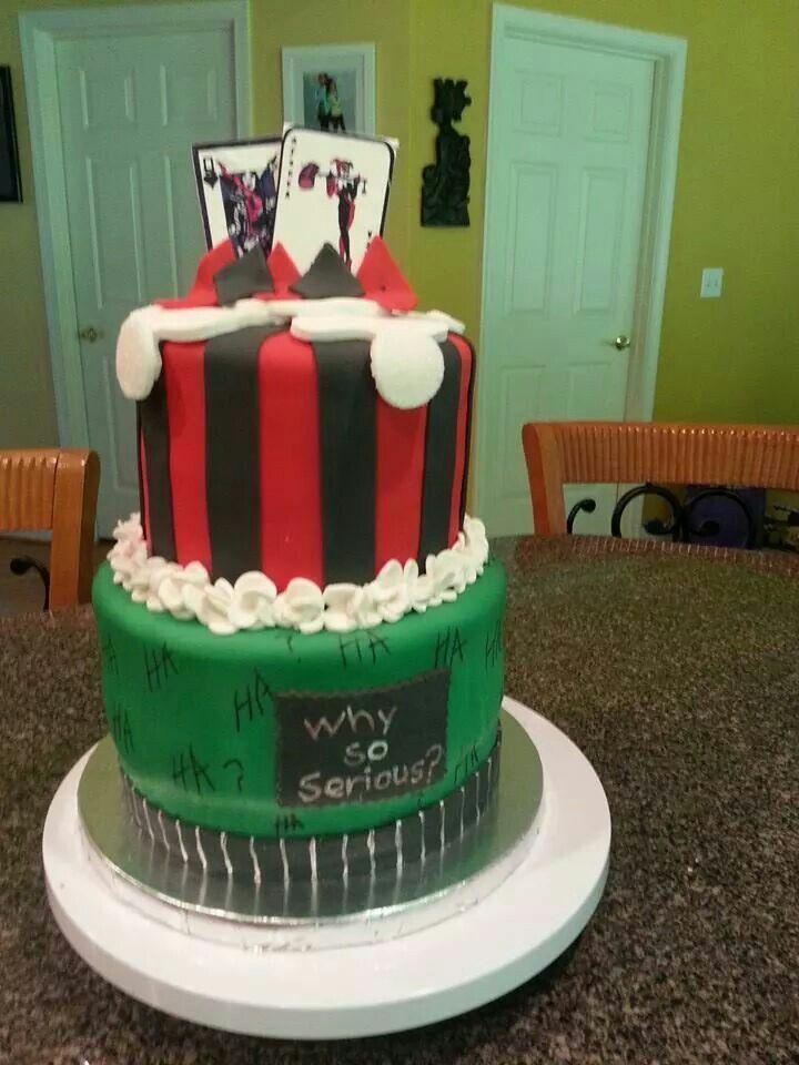 Joker And Harley Quinn Cake Cakes Amp Loaves