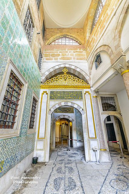 Harem Room . Topkapi Palace . Istanbul, Turkey... just love it!