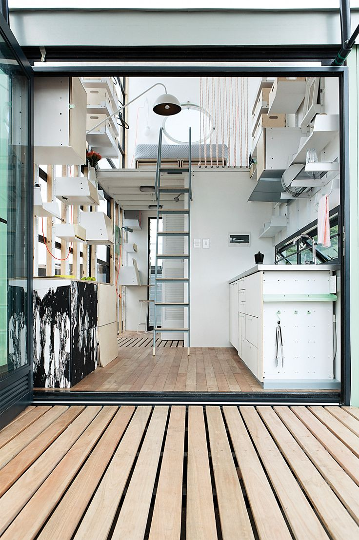11 best Small Space Living images on Pinterest | Little houses, Tiny ...