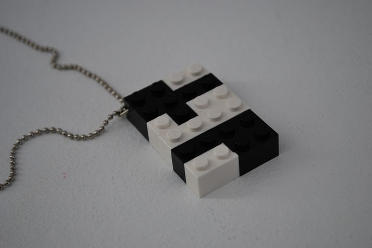 necklace made with lego