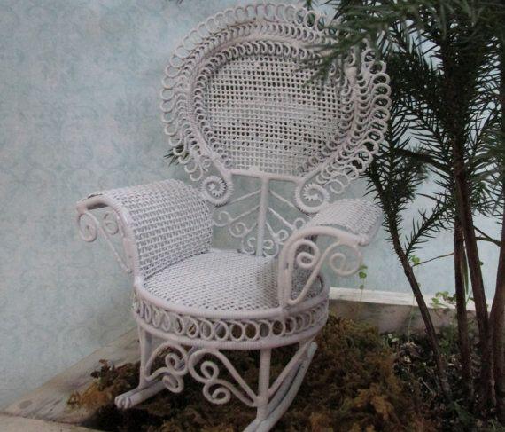 White Fairy Garden Accessories Victorian by GardenSpellGhostTale, $18.00