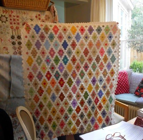 """Supergoof Quilts """"A lovely day, and one too good"""""""