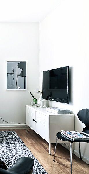 Via Planete Deco | Black and White | Arne Jacobsen | IKEA PS
