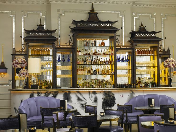 Artesian Bar at The Langham, London. Designer David Collins.