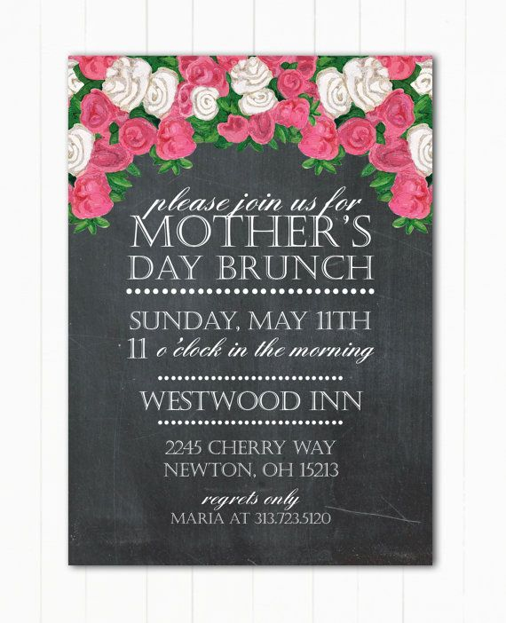 Mother's Day Brunch or Event Flyer or by ...
