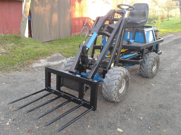 how to build a small tractor