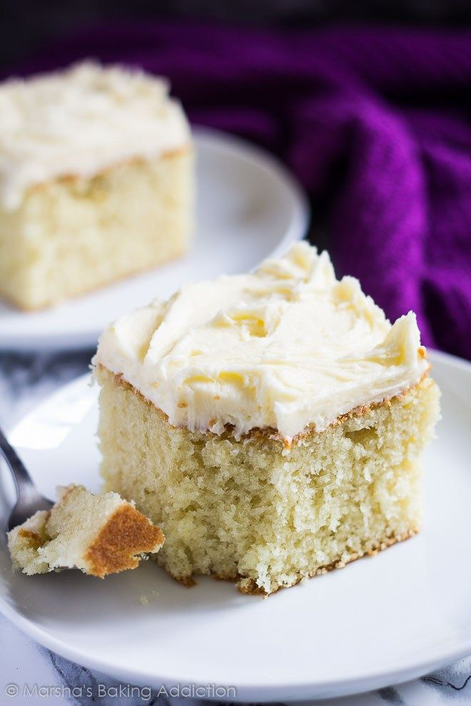 Quick and easy vanilla cake recipes