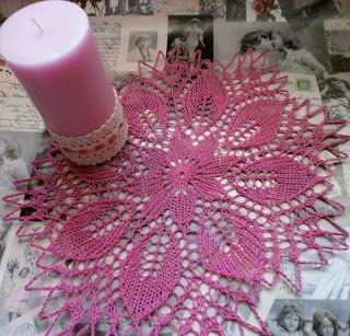 Zamotana Lacrima: Kurs robienia serwet na drutach