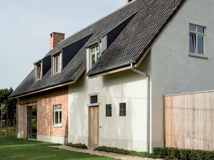 75 best nieuwbouw klassiek images on pinterest for Moderne stijl gevel