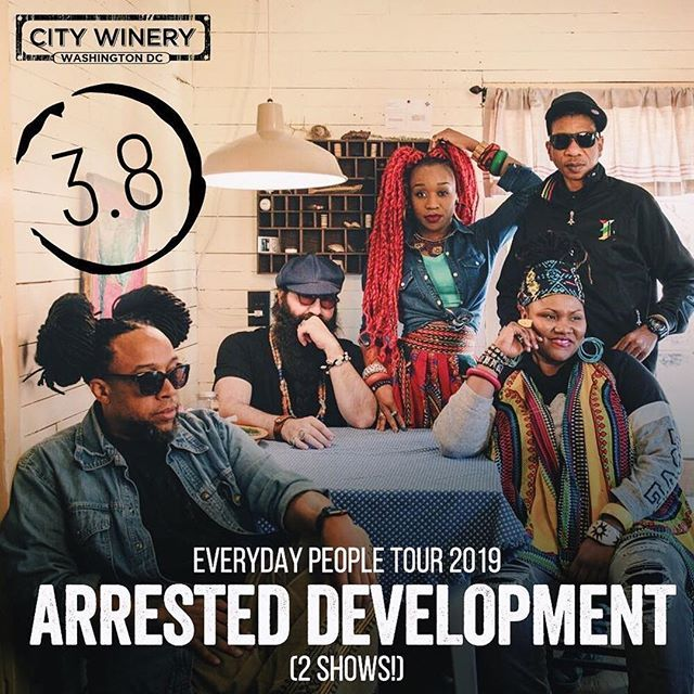 Arresteddevelopment Just Announced Citywinerydc Arrested Development Will Be Live In Our Venue On March 8th F Arrested Development Good Raps Hip Hop Artists