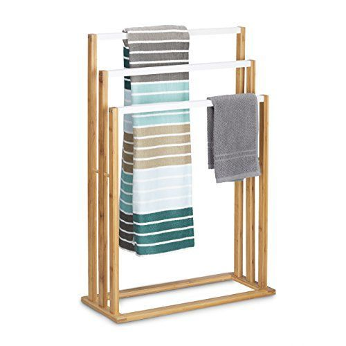 Kategorie Handtuchhalter - Handtuchhalter aus Bambus günstig online kaufen.