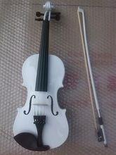 Высокое качество БЕЛЫЙ цвет скрипка 1/4 скрипка ручной работы скрипка Музыкальные Инструменты(China (Mainland))