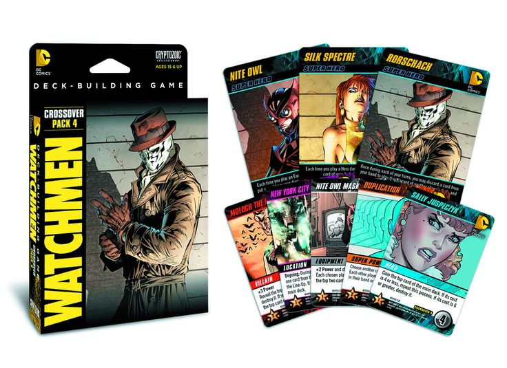 DC Deck Building Game Crossover Expansion - Watchmen