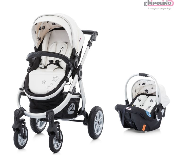Chipolino Nina White Travel Set Bebek Arabası
