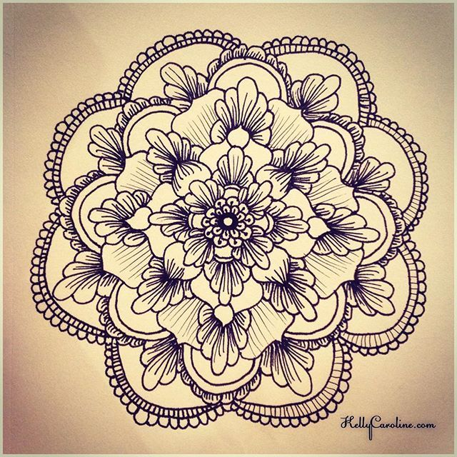 Best Mehndi Flower : Mehndi mandala tattoo imgkid the image kid has it