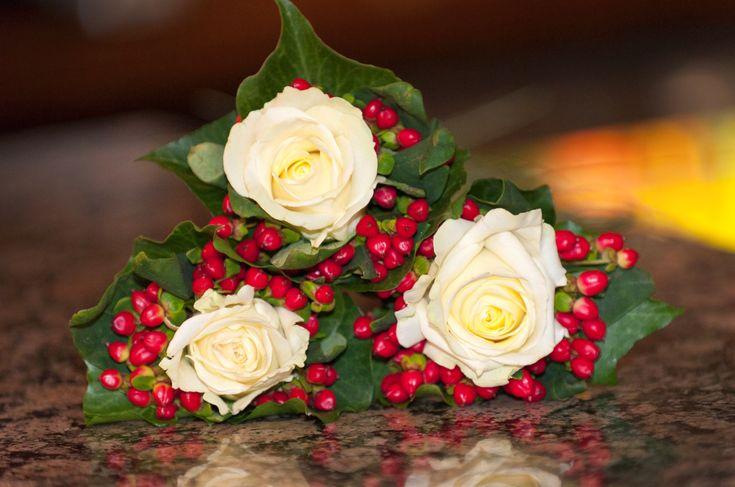 Festive buttonholes!