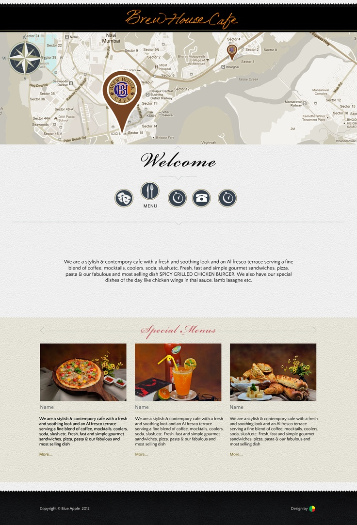 Bhc website home page gourmet sandwiches cafe house