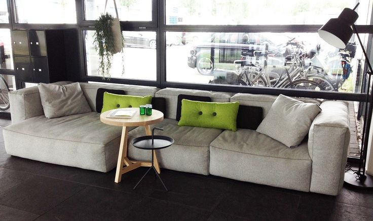 hay mags soft sofa bank in onze showroom bord michiel. Black Bedroom Furniture Sets. Home Design Ideas