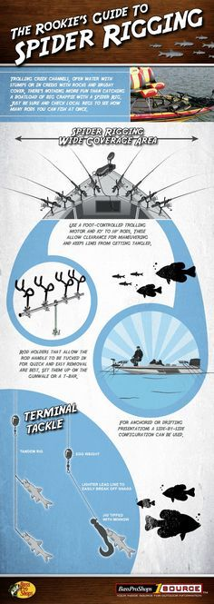 The Rookie's Guide to Spider Rigging and the Fastest Crappie Limit of Your Life (Infographic) Posted by Brenden Kanies