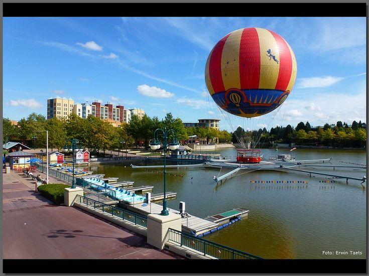 Disney Village and Panoramagique Hot Air Balloon