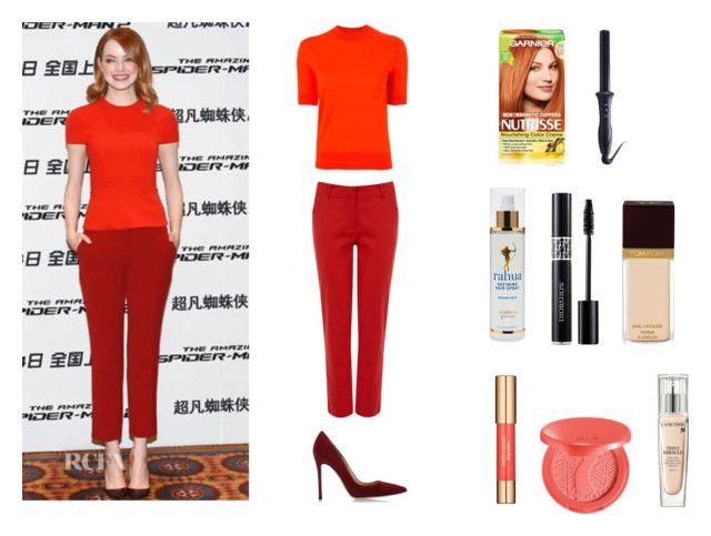 """""""How to look like Emma Stone"""" by akanksha-mahajan on Polyvore"""