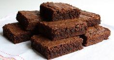 Brownie Fácil com Nescau - INGREDIENTES  2 xícaras  de  farinha de trigo 2 xícaras de  açúcar 2 xícaras de  Nescau 200 g de manteiga 4 ovos