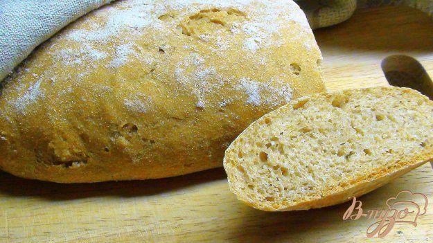 Тосканский хлеб из цельнозерновой муки. Хлеб на закваске. - пошаговый рецепт с…
