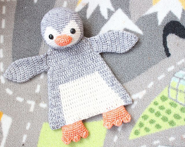 Penguin Ragdoll Pattern By A La Sascha Baby Blankets