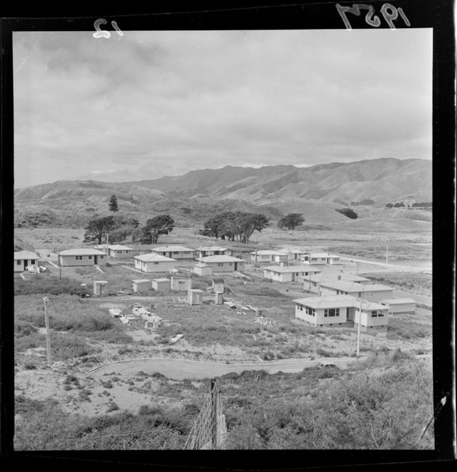 House development at Paekakariki 1957